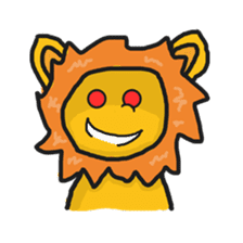 Shanga The Lion Full Expression sticker #8719954