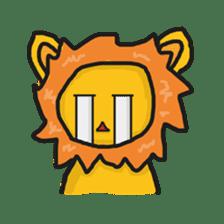 Shanga The Lion Full Expression sticker #8719956