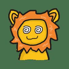 Shanga The Lion Full Expression sticker #8719957