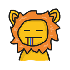 Shanga The Lion Full Expression sticker #8719958