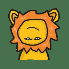 Shanga The Lion Full Expression sticker #8719961