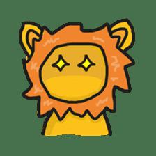 Shanga The Lion Full Expression sticker #8719962