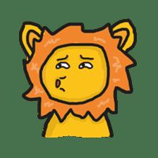 Shanga The Lion Full Expression sticker #8719965