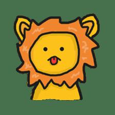 Shanga The Lion Full Expression sticker #8719966