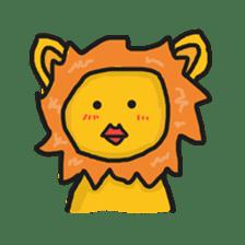 Shanga The Lion Full Expression sticker #8719968