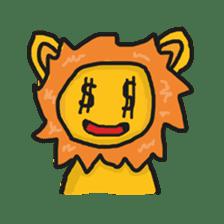 Shanga The Lion Full Expression sticker #8719969