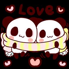 Lover is full of panda!