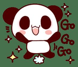 Lover is full of panda! sticker #8721412