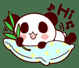 Lover is full of panda! sticker #8721414