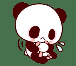 Lover is full of panda! sticker #8721416