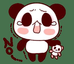 Lover is full of panda! sticker #8721417