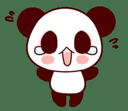 Lover is full of panda! sticker #8721418