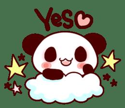 Lover is full of panda! sticker #8721429
