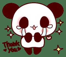 Lover is full of panda! sticker #8721432