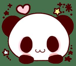 Lover is full of panda! sticker #8721433