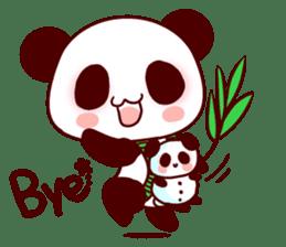 Lover is full of panda! sticker #8721434