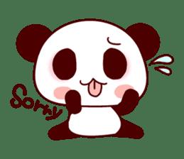 Lover is full of panda! sticker #8721436
