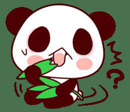 Lover is full of panda! sticker #8721437