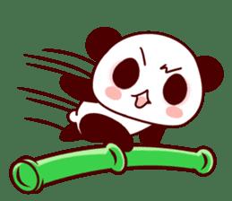 Lover is full of panda! sticker #8721438
