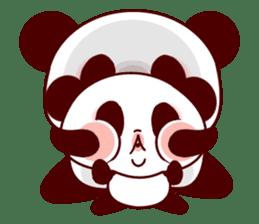 Lover is full of panda! sticker #8721440