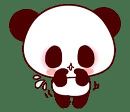 Lover is full of panda! sticker #8721443