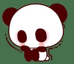 Lover is full of panda! sticker #8721444