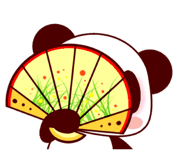 Lover is full of panda! sticker #8721445