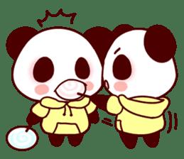 Lover is full of panda! sticker #8721447