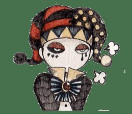Three clowns sticker #8725051