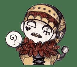 Three clowns sticker #8725074
