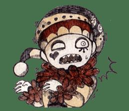 Three clowns sticker #8725078