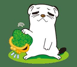 Fluffy ermine sticker #8727230