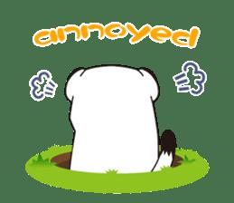 Fluffy ermine sticker #8727247