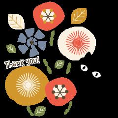 Scandinavian design sticker