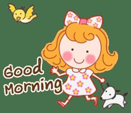 Cute Girl by Masayumi (English Ver.) sticker #8731250