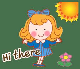 Cute Girl by Masayumi (English Ver.) sticker #8731251
