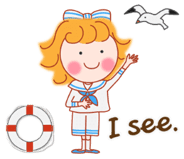 Cute Girl by Masayumi (English Ver.) sticker #8731259