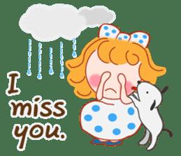 Cute Girl by Masayumi (English Ver.) sticker #8731261