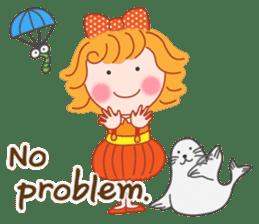 Cute Girl by Masayumi (English Ver.) sticker #8731263