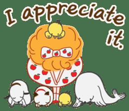 Cute Girl by Masayumi (English Ver.) sticker #8731265