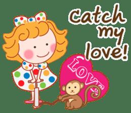 Cute Girl by Masayumi (English Ver.) sticker #8731268