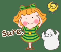 Cute Girl by Masayumi (English Ver.) sticker #8731269