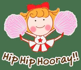 Cute Girl by Masayumi (English Ver.) sticker #8731270