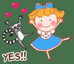 Cute Girl by Masayumi (English Ver.) sticker #8731271