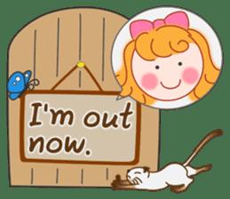 Cute Girl by Masayumi (English Ver.) sticker #8731275