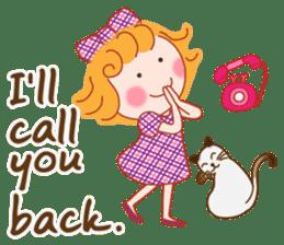 Cute Girl by Masayumi (English Ver.) sticker #8731276