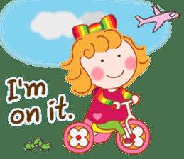 Cute Girl by Masayumi (English Ver.) sticker #8731277