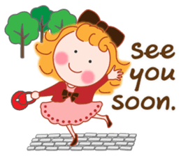 Cute Girl by Masayumi (English Ver.) sticker #8731278