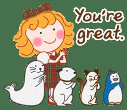 Cute Girl by Masayumi (English Ver.) sticker #8731284