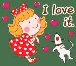 Cute Girl by Masayumi (English Ver.) sticker #8731285